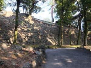 唐沢山城の高石垣