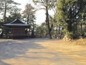 唐沢山城の二の丸