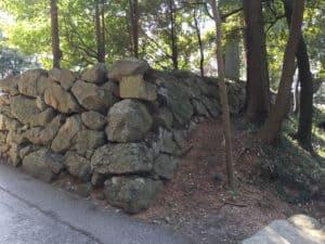 唐沢山城の石垣