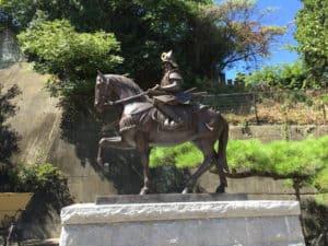 加藤嘉明の銅像