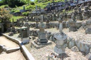 因島村上水軍の墓所