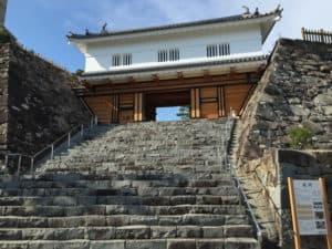 甲府城の山手御門
