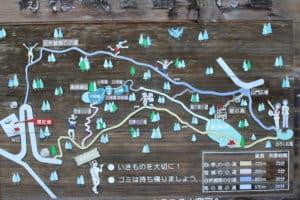 高根城の遊歩道