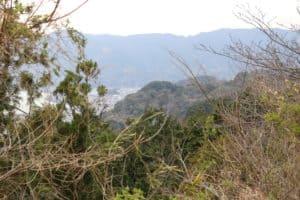 蒲原城からの展望