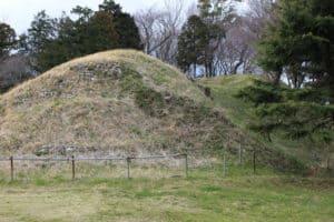 興国寺城の土塁