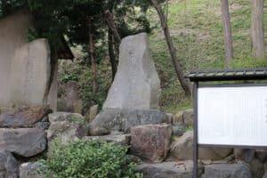 興国寺城の北条早雲石碑
