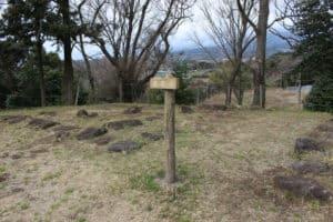 興国寺城の天守台