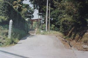 大多喜城の大手門跡