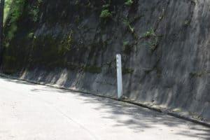 久留里城の堀切跡