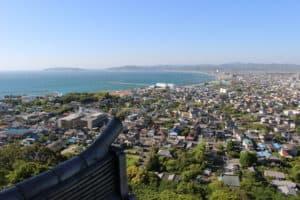 館山城からの景観