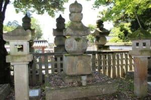 新庄局(熊谷信直娘)の墓