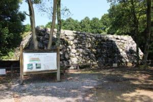 岩国城の天守台