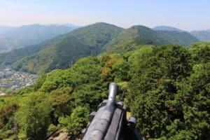 岩国城からの展望