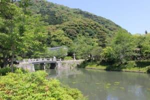 岩国城の水堀
