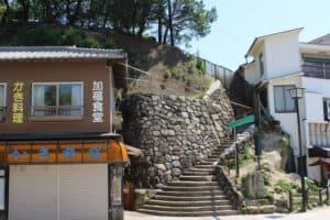 宮尾城への入口