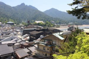宮尾城(要害山)からの展望