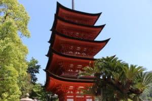 豊国神社の五重塔