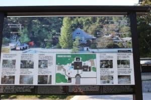 洞雲寺の境内マップ