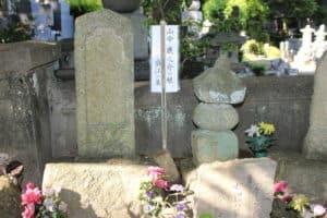 山中盛江の墓
