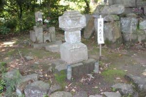 海蔵寺の北条氏直の墓