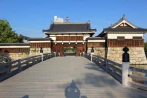 広島城・二の丸大手門