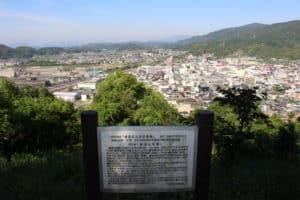 鎮海山城からの展望