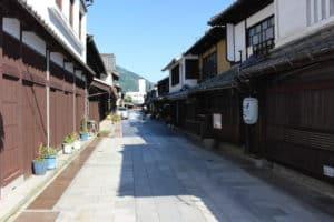竹原の街並み