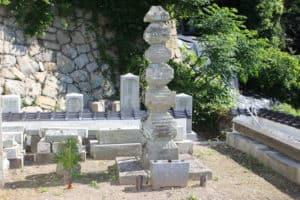 河野通直の墓