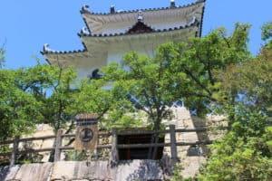 因島水軍城の櫓