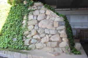 三原城の石垣