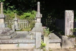 小早川隆景の墓