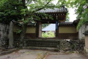 補陀寺の中門