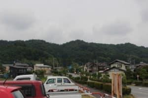 松井田城の遠景
