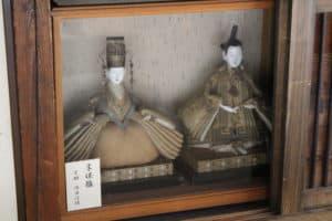 旧安中藩郡奉行役宅の雛人形