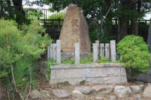 淀城の石碑