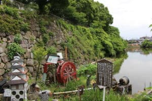 淀城の水車