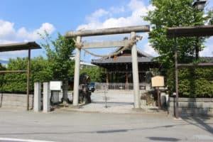 亀山城の大手門跡