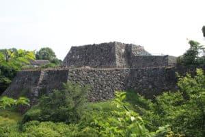 大和郡山城の天守台