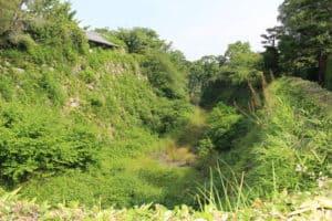 大和郡山城の堀