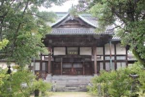 佐賀・高伝寺の本堂