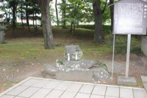 川中島・執念石