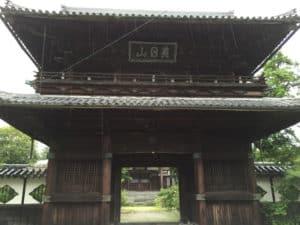 佐賀・高伝寺の山門