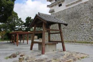唐津城の井戸