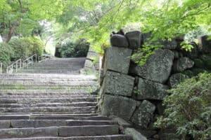 唐津城の石垣