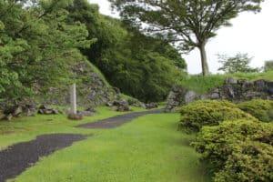 肥前・名護屋城の大手門跡