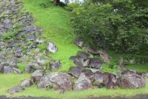 肥前・名護屋城の石垣