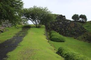 肥前・名護屋城の登城坂