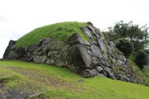 肥前・名護屋城の東出丸にある櫓跡