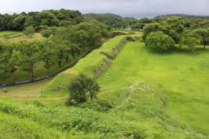 名護屋城の二の丸と遊撃丸跡