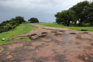名護屋城の多聞櫓跡